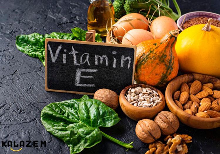 نقش ویتامین E در بدن
