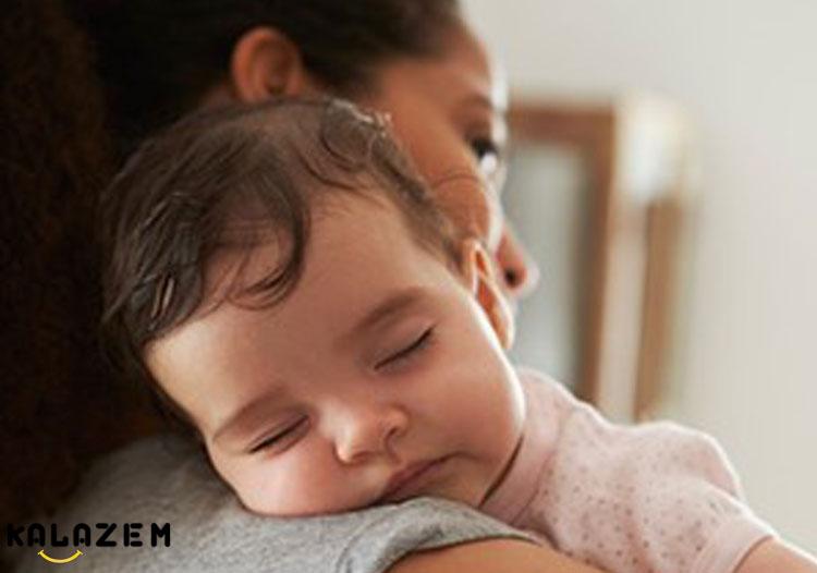 بیخوابی کودک نه ماهه