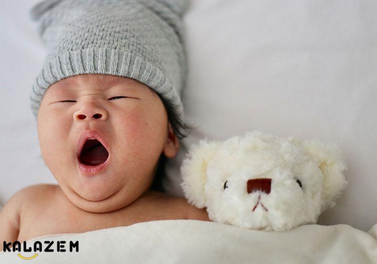 بی خوابی نوزاد سه ماهه