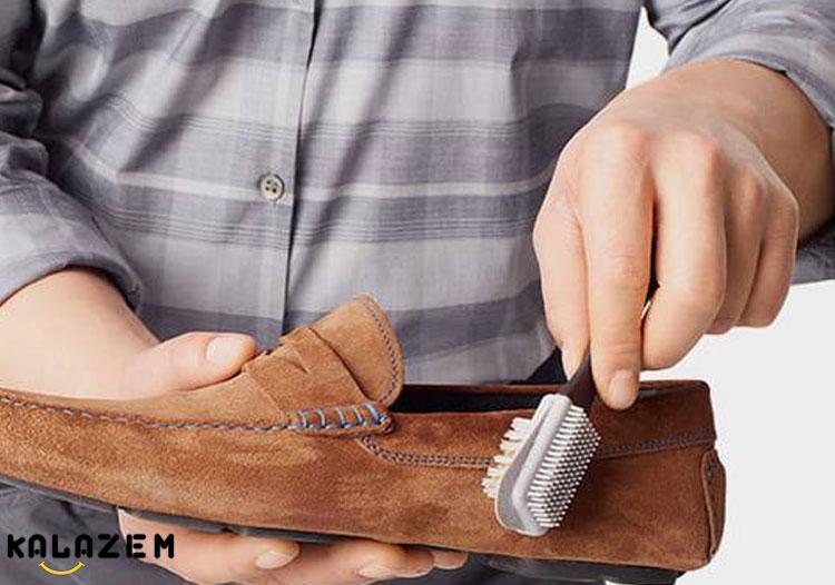 تمیز کردن کفش پارچه ای و رنگی
