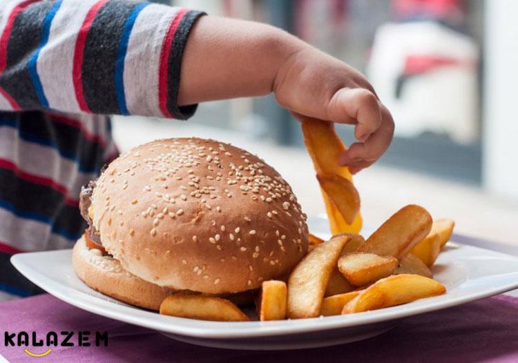 عادت غذایی درست در کودک