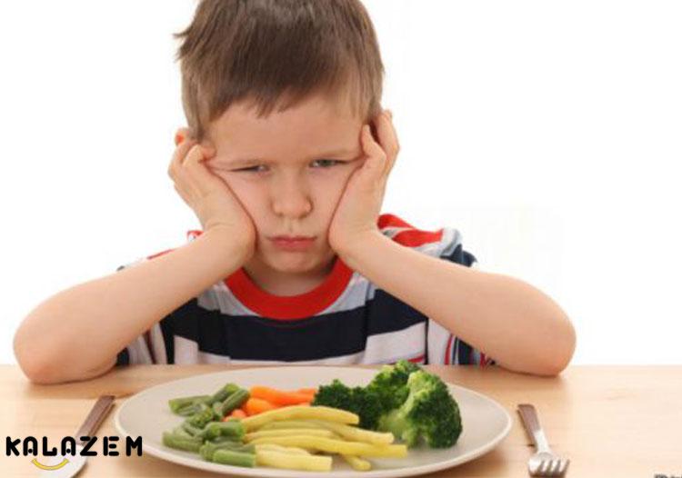 بد غذایی در کودکان دو ساله