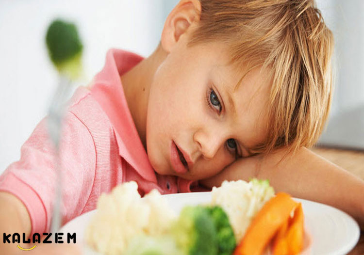 عادت های بد غذایی کودکان
