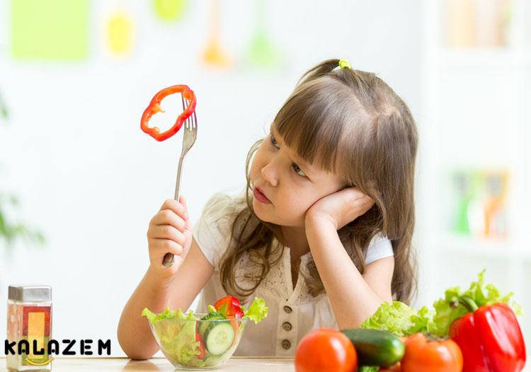 علت اصلی غذا نخوردن کودکان