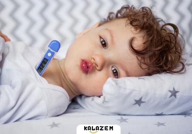 روش گرفتن درجه تب در کودکان و نوزادان