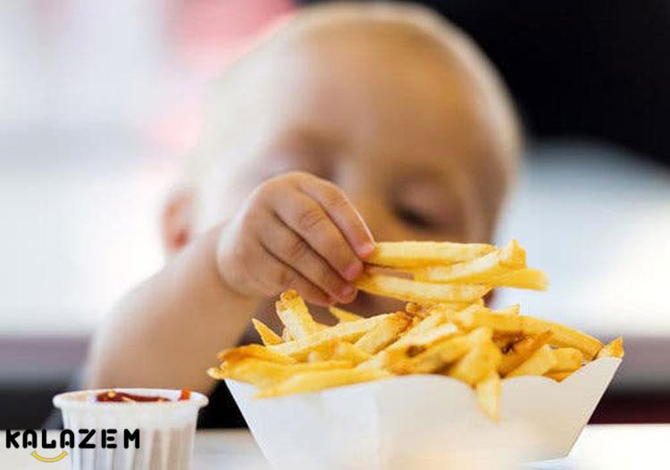 انسداد راه تنفسی کودک