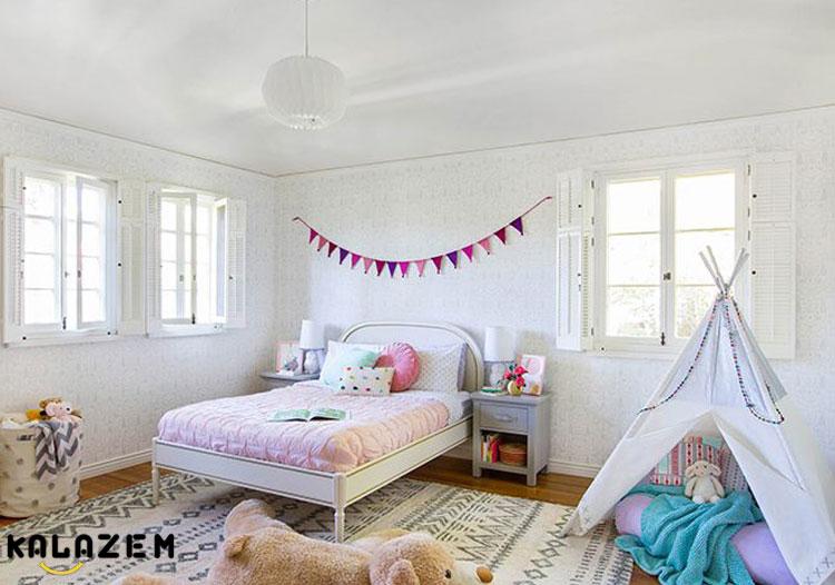 چطور می توانیم از یک دکوراسیون اتاق خواب ساده و شیک بهره مند شویم؟