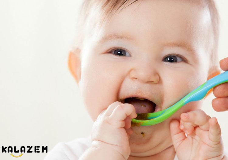 طرز تهیه غذای کودک 6 ماهه