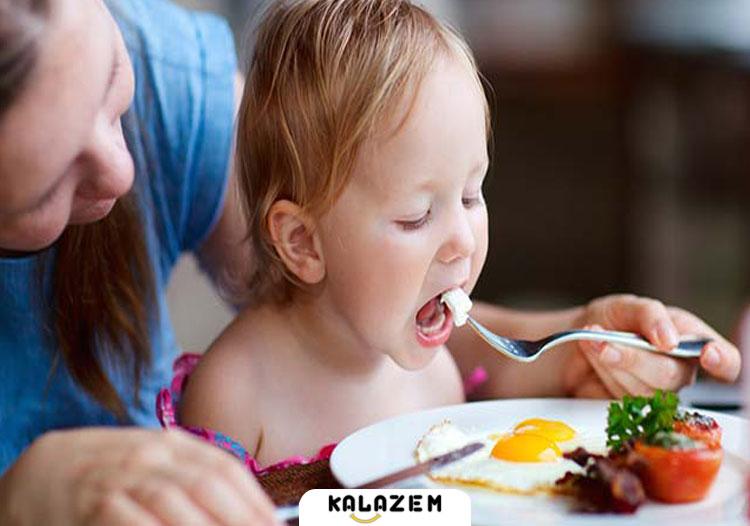برنامه غذایی نوزاد 5 ماهه