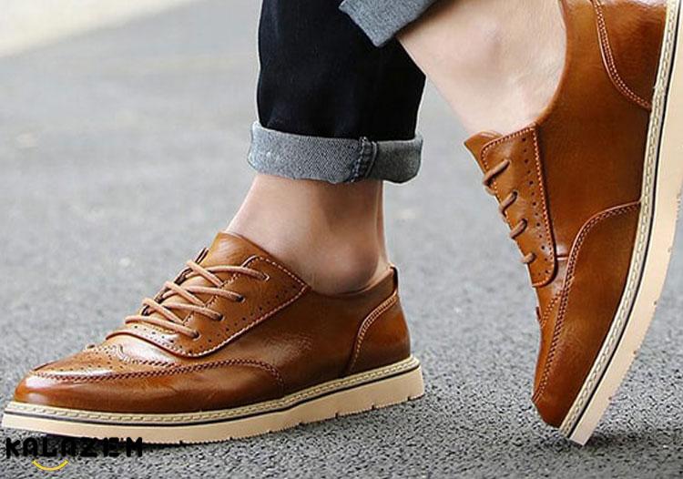 خرید کفش چرم اصل