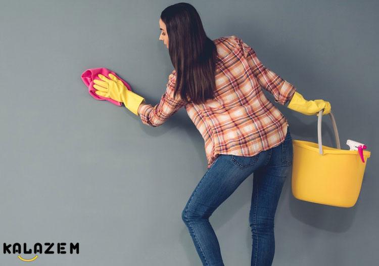 پاک کردن مداد رنگی از دیوار