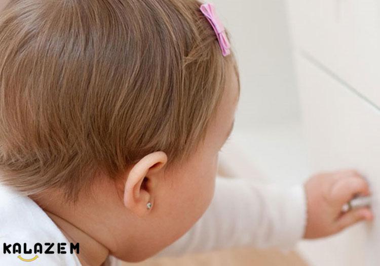 محافظ درب کابینت برای کودک