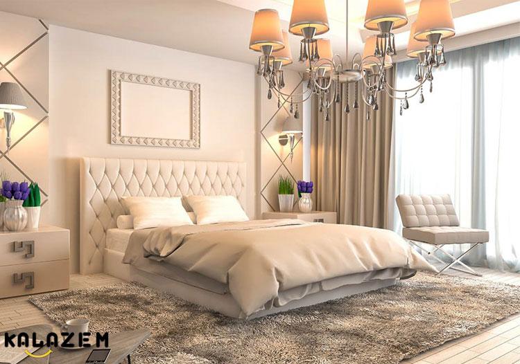 نورپردازی زیبا اتاق خواب