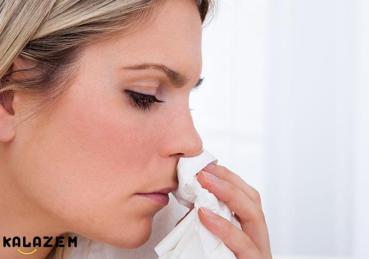 درمان خونریزی بینی