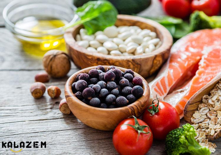 غذاهای مفید برای سندرم تخمدان پلی کیستیک
